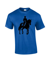 Horse Riding T-shirt - Dicky Ticker