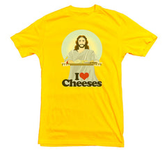 Jesus T-shirt Cheeses - Dicky Ticker  - 3