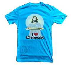 Jesus T-shirt Cheeses - Dicky Ticker  - 5