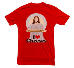 Jesus T-shirt Cheeses - Dicky Ticker  - 6