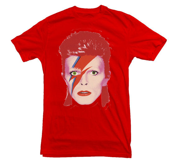 Ziggy Stardust T-shirt - Dicky Ticker  - 1