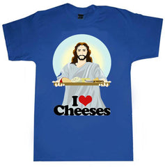 Jesus T-shirt Cheeses - Dicky Ticker  - 1