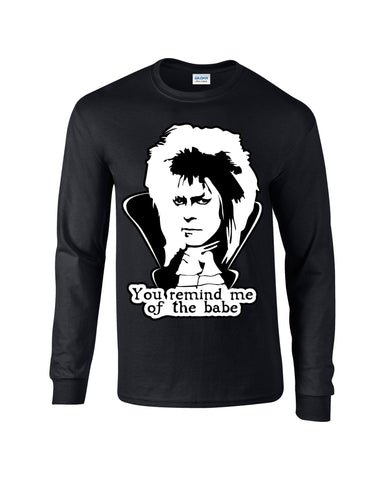 David Bowie Labyrinth Long Sleeve