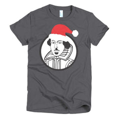 Shakespeare Ladies T-shirt Xmas - Dicky Ticker  - 5
