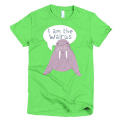 The Beatles Ladies T-shirt I Am The Walrus - Dicky Ticker
