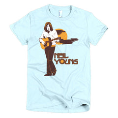 Neil Young Ladies T-shirt Harvest - Dicky Ticker  - 13