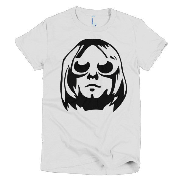 Kurt Cobain Ladies T-shirt - Dicky Ticker  - 1
