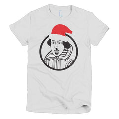 Shakespeare Ladies T-shirt Xmas - Dicky Ticker  - 2