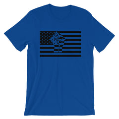 USA Flag T-shirt Black Lives Fist