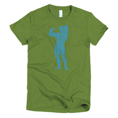 Arnold Schwarzenegger Ladies T-shirt Lifting Weight - Dicky Ticker