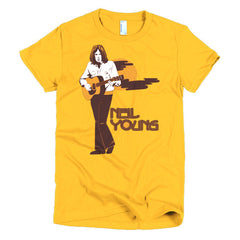 Neil Young Ladies T-shirt Harvest - Dicky Ticker  - 17