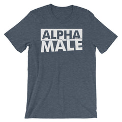 Alpha Male T-shirt Gym Weightlifting Really Crap Night Club