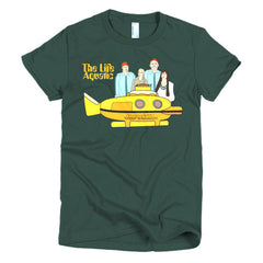 Life Aquatic Ladies T-shirt Team Zissou - Dicky Ticker  - 7