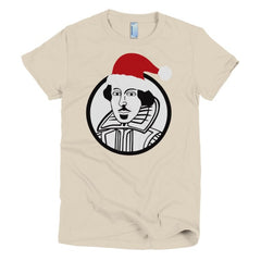 Shakespeare Ladies T-shirt Xmas - Dicky Ticker  - 12