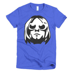 Kurt Cobain Ladies T-shirt - Dicky Ticker  - 9