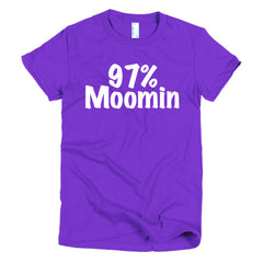 97% Moomin Ladies T-shirt - Dicky Ticker  - 8