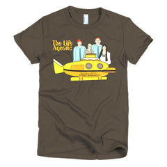 Life Aquatic Ladies T-shirt Team Zissou - Dicky Ticker  - 6