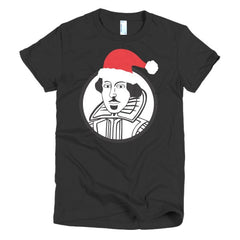 Shakespeare Ladies T-shirt Xmas - Dicky Ticker  - 3