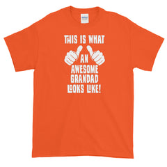 What An Awesome Grandad Looks Like T-shirt Grandfather