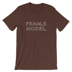 Female Model T-shirt