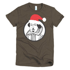 Shakespeare Ladies T-shirt Xmas - Dicky Ticker  - 6