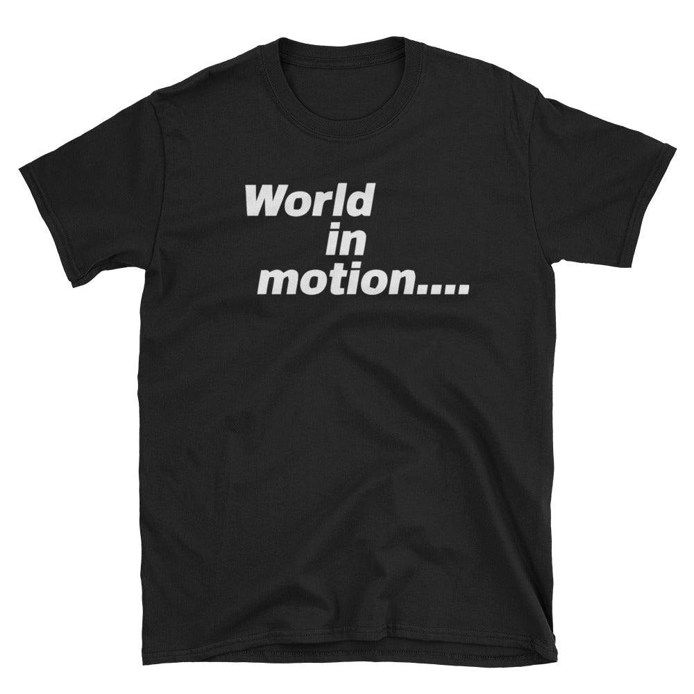 New Order T-shirt World In Morion 1990 England World Cup