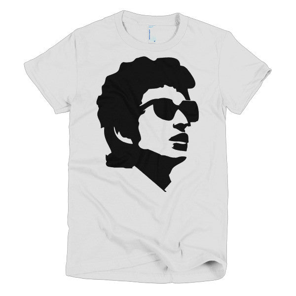 Bob Dylan Ladies T-shirt Shades - Dicky Ticker  - 1