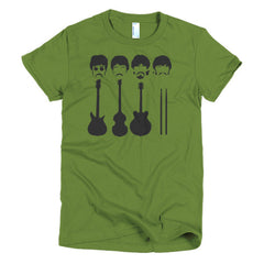 Beatles Ladies T-shirt Instruments - Dicky Ticker  - 3