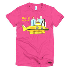 Life Aquatic Ladies T-shirt Team Zissou - Dicky Ticker  - 20