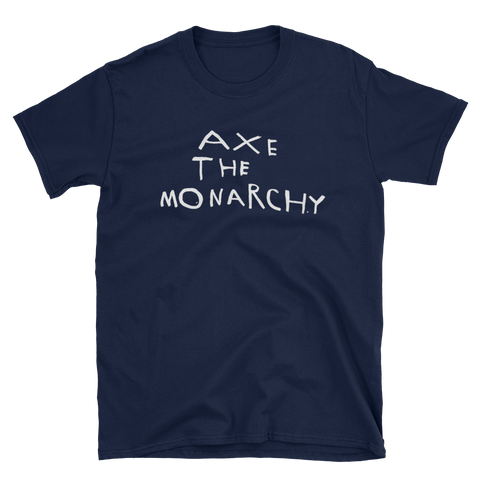 Morrissey T-shirt Axe The Monarchy Low in High School