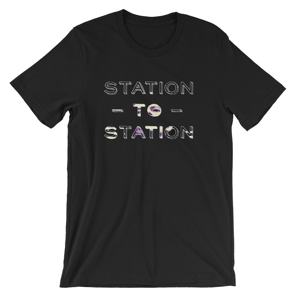 Bowie T-shirt Station To Station