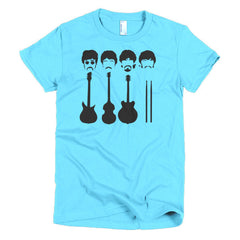 Beatles Ladies T-shirt Instruments - Dicky Ticker  - 14
