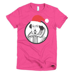 Shakespeare Ladies T-shirt Xmas - Dicky Ticker  - 20