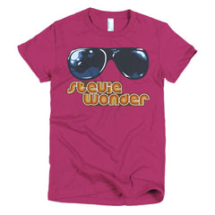 Stevie Wonder Ladies T-shirt - Dicky Ticker  - 18
