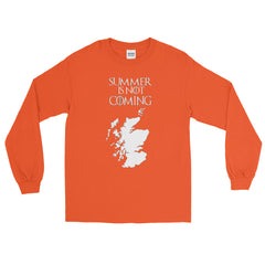 Scotland Long Sleeve T-Shirt Summer Is Not Coming Independence