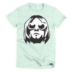 Kurt Cobain Ladies T-shirt - Dicky Ticker  - 8