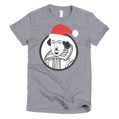 Shakespeare Ladies T-shirt Xmas - Dicky Ticker  - 8