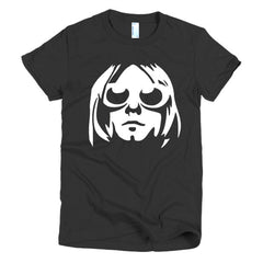Kurt Cobain Ladies T-shirt - Dicky Ticker  - 2