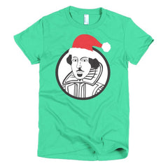 Shakespeare Ladies T-shirt Xmas - Dicky Ticker  - 11