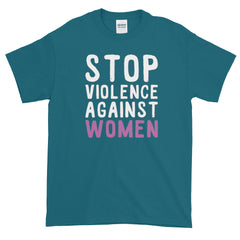 Stop Violence Against Women T-shirt Abuse Feminism