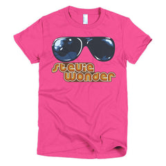 Stevie Wonder Ladies T-shirt - Dicky Ticker  - 20