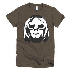 Kurt Cobain Ladies T-shirt - Dicky Ticker  - 3