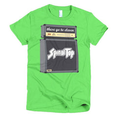 Spinal Tap Ladies T-shirt - Dicky Ticker  - 9