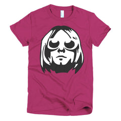 Kurt Cobain Ladies T-shirt - Dicky Ticker  - 15