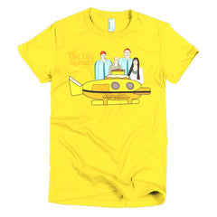 Life Aquatic Ladies T-shirt Team Zissou - Dicky Ticker  - 15