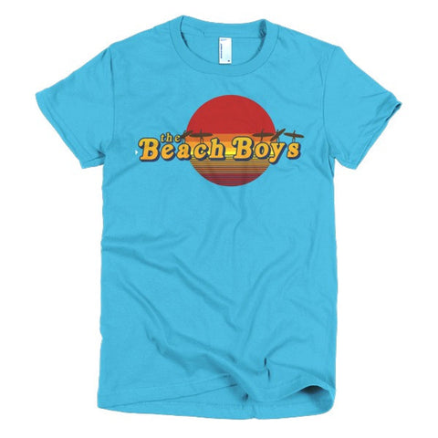 Beach Boys Ladies T-shirt Surfs Up