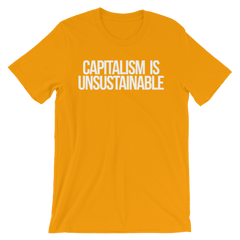 Capitalism Is Unsustainable T-shirt