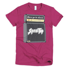 Spinal Tap Ladies T-shirt - Dicky Ticker  - 18