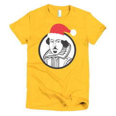 Shakespeare Ladies T-shirt Xmas - Dicky Ticker  - 17
