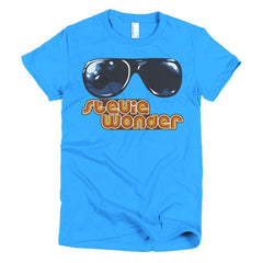Stevie Wonder Ladies T-shirt - Dicky Ticker  - 13